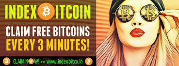 بیت کوین رایگان با سایت Indexbitcoin